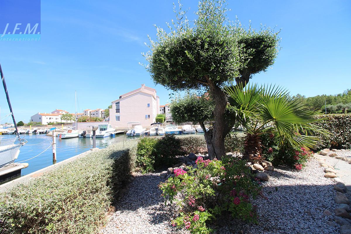 Vente Saint Cyprien Plage Appartement T4 Vues Mer Et Marina